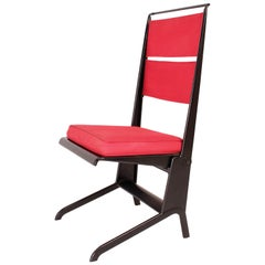 Jean Prouvé Folding Chair Designed 1930, Manufactured by Tecta, 1983