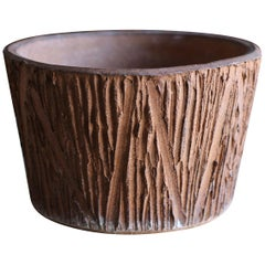 """Scratch"" Pattern Planter by David Cressey for Architectural Pottery"