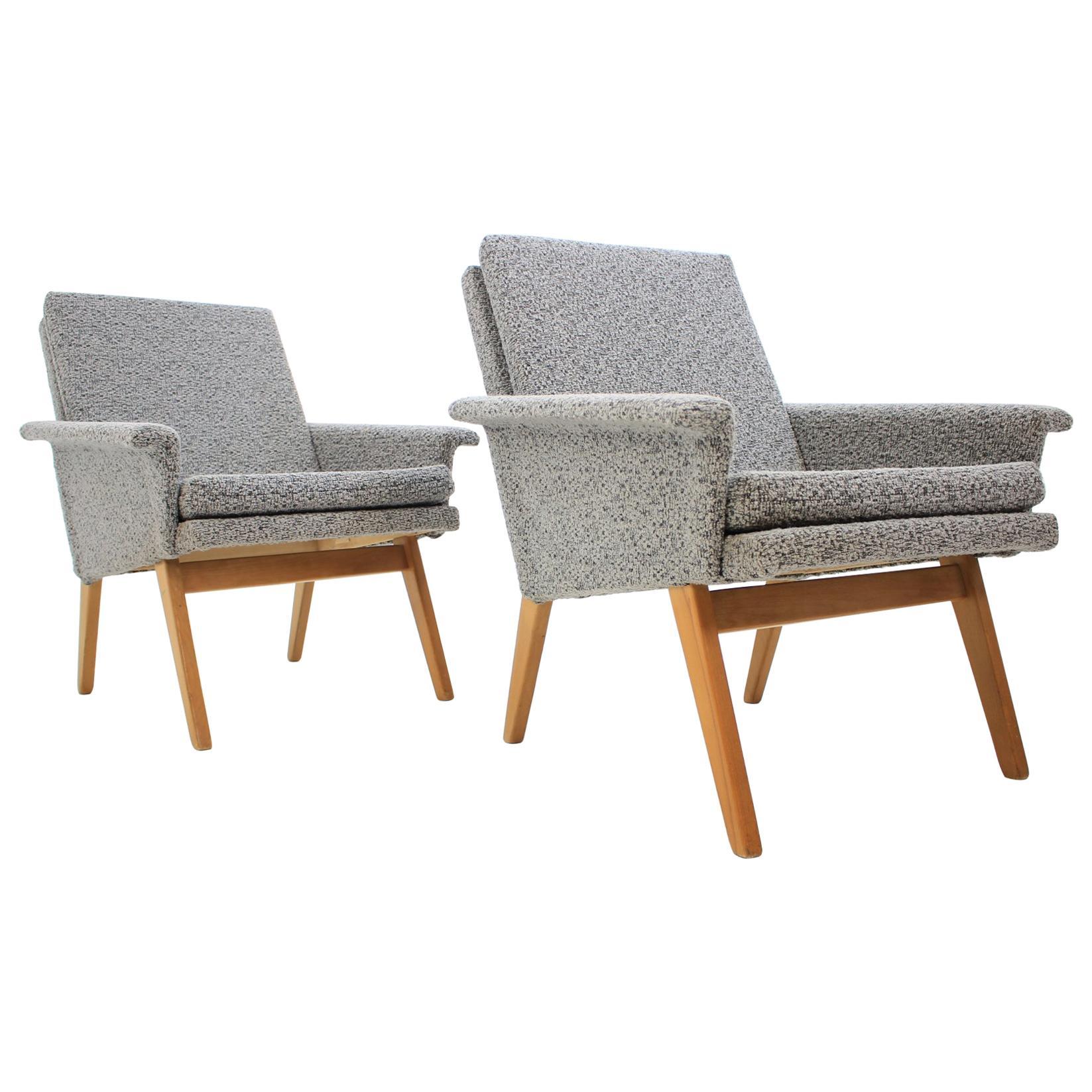 Pair of Midcentury Chairs, Denmark, 1970s