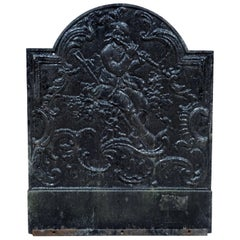 19th Century Antique Fireback