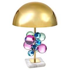 Globo Lucite Table Lamp