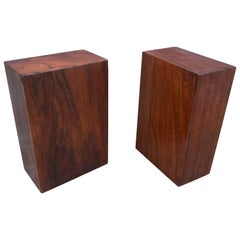 1960s Danish Modern Rosewood Bookends