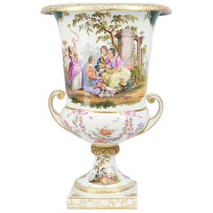 Large Late 19th Century Berlin Porcelain Urn
