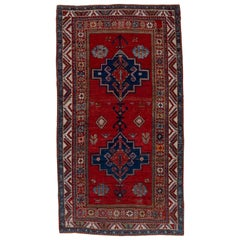 Antique Red Kazak Rug