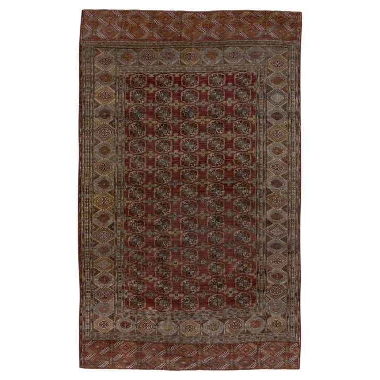 1860s Rug Dimensions Antique Turkmen Tekke Rug For Sale At