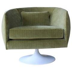 Mid-Century Modern Swivel Armchair, 1960s