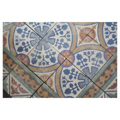 Reclaimed French Tiles, circa 1900