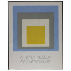 Josef Albers, Homage to the Square: Whitney Museum of American Art, 1972