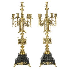 Pair of 19th Century French Candelabra