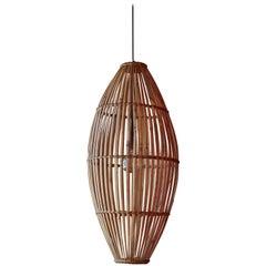 Rattan Hanging Pendant Lamp