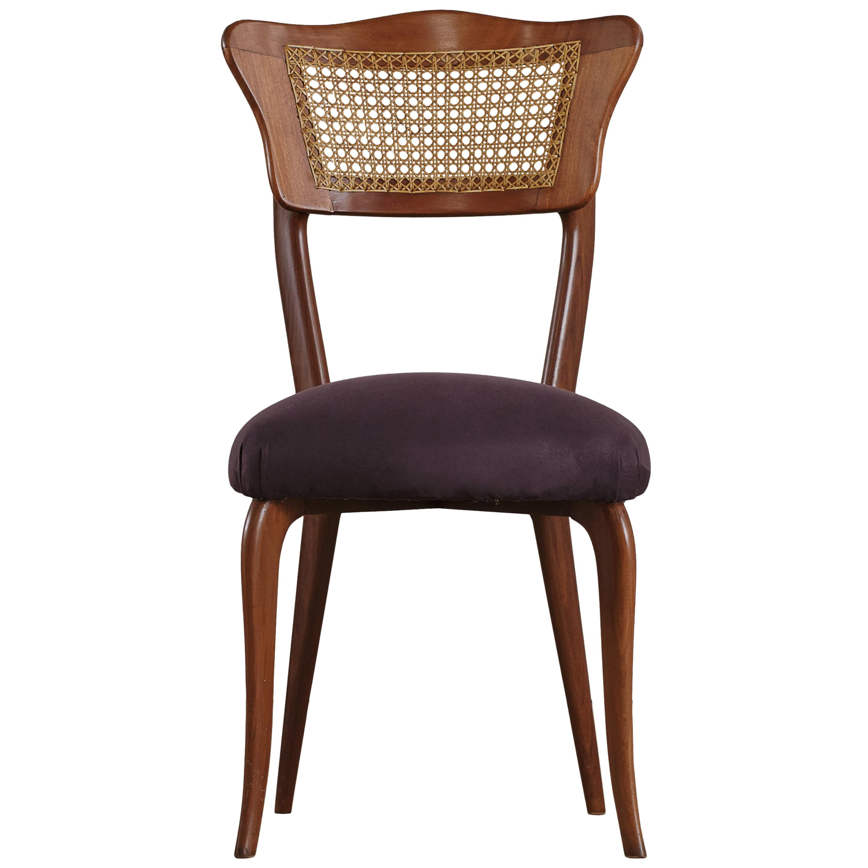 Dining Chair, Giuseppe Scapinelli, Brazilian Midcentury, 1960