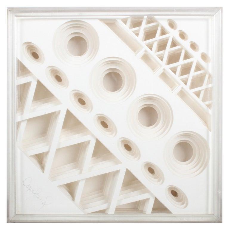 Greg Copeland 1970s 3-D Geometric Op Art For Sale