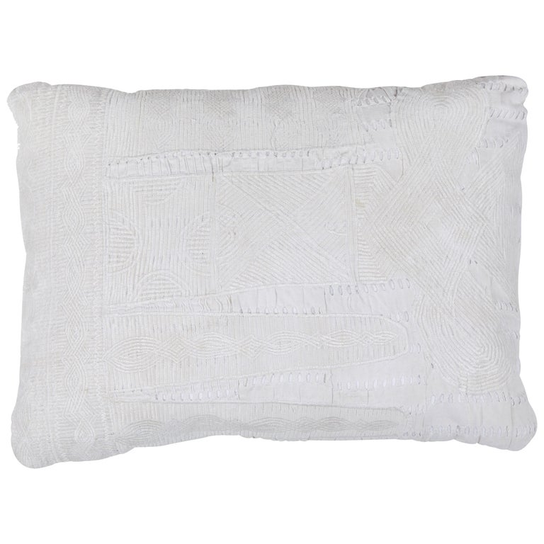 African Embroidery Pillow For Sale