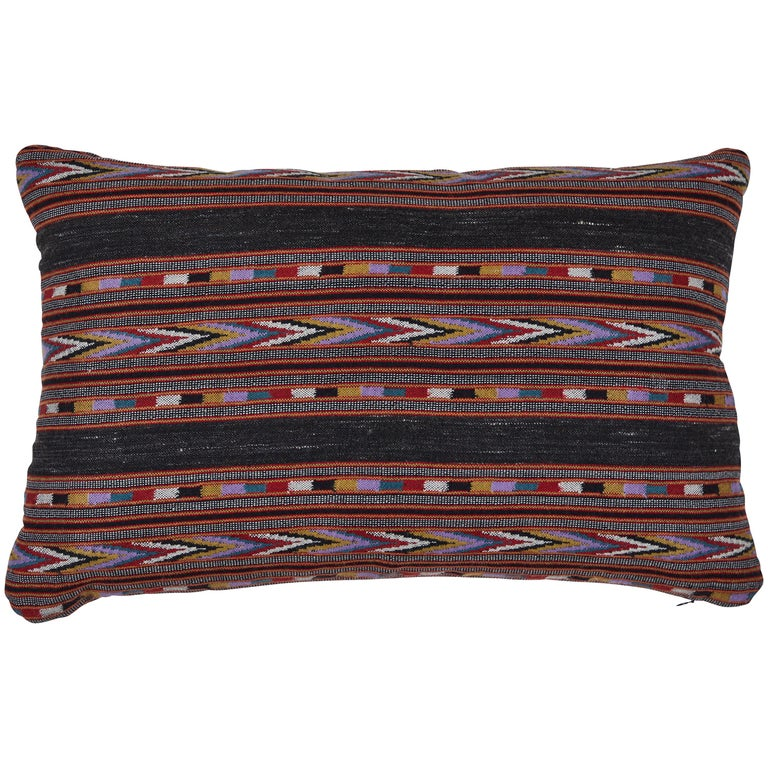 Indian Handwoven Yak Wool Pillow For Sale