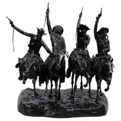 Coming through the Rye, after Frederic Remington