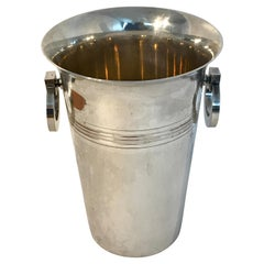 French Art Deco Silver Plated Champagne Bucket