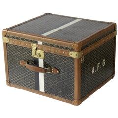 1920s Goyard Hat Box
