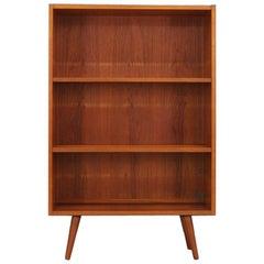 Teak Bookcase Scandinavian Design Vintage
