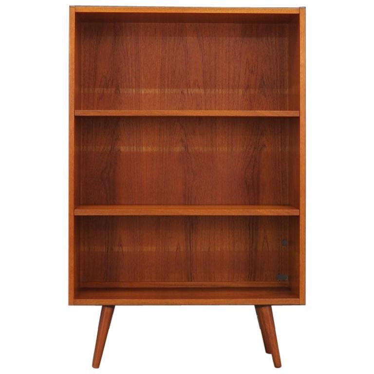 Teak Bookcase Scandinavian Design Vintage For Sale At 1stdibs