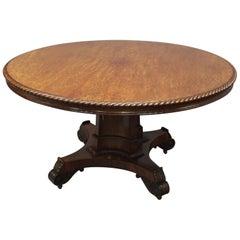 Scottish William IV Circular Breakfast Table