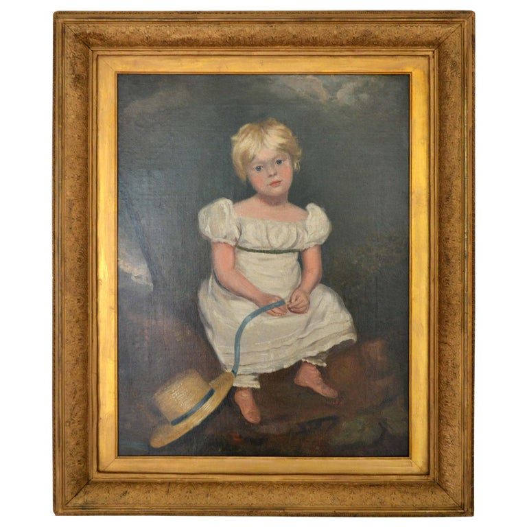 Young Girl after Sir Thomas Lawrence For Sale