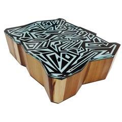 "''Graffiti"" Sculptural Coffee Table"