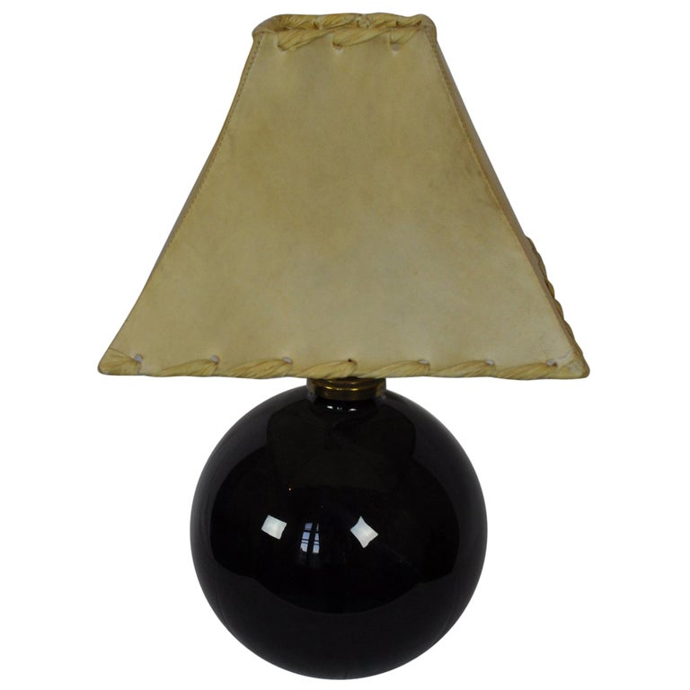 Art Deco Table Lamp by Jacques Adnet, 1940 For Sale