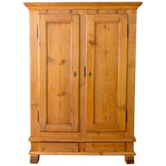 Late 19th Century Baltic Pine Armoire
