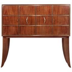 Art Deco, Italian Exceptional Bar Cabinet by Guglielmo Ulrich