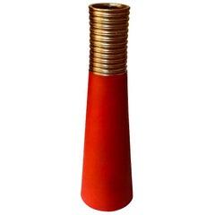 Red Vase Gallery Moo' Blegok
