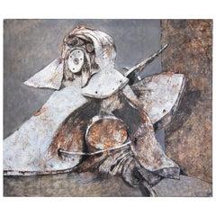 Ivan Semiletov Oil on Canvas Guardian