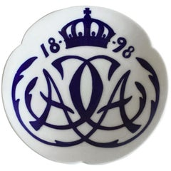 Royal Copenhagen Commemorative Plate from 1898 RC-CM18