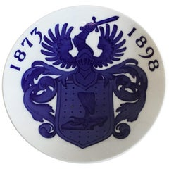Royal Copenhagen Commemorative Plate from 1898 RC-CM23