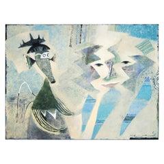 Ivan Semiletov Oil on Canvas Characters
