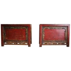 Pair of 19th Century Chinese Console Tables