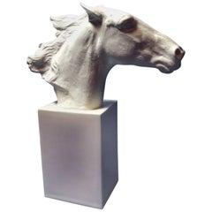 Horse Head Hannibal Rosenthal Statue by Albert Hussman