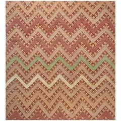 Contemporary Geometric Tribal Rug