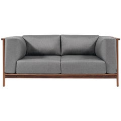 Loveseat Confort, Mexican Contemporary Loveseat by Emiliano Molina for Cuchara