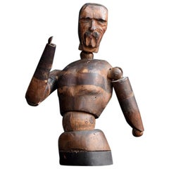 Early 20th Century Half Form Male Artists Lay Figure Example