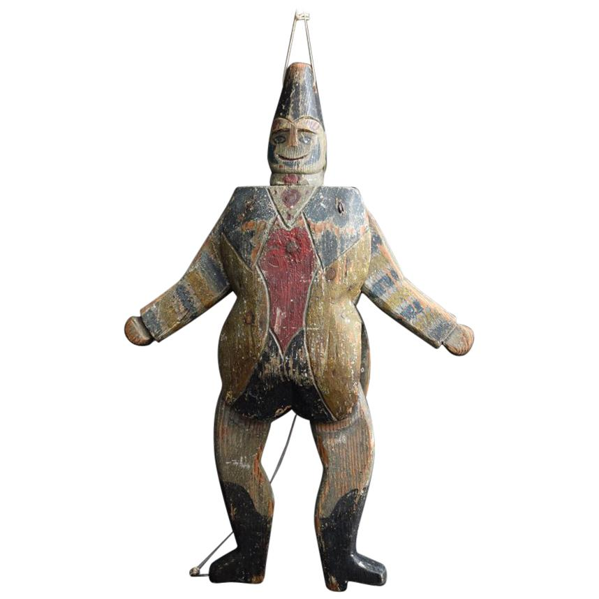 Early 20th Century American Jumping Jack Figure