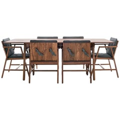 Comedor 6 Plazas, Mexican Contemporary Dining Set by Emiliano Molina for Cuchara