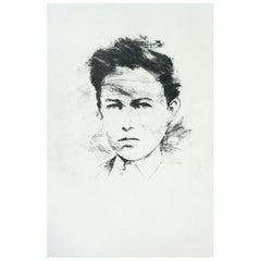 """Thierry Despont Lithograph Portfolio of Rimbaud's Poem """"Le Bateau Ivre"""""""
