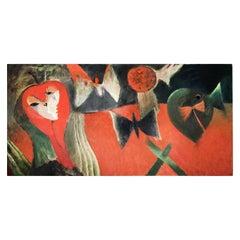 Ivan Semiletov Oil on Canvas Sleep