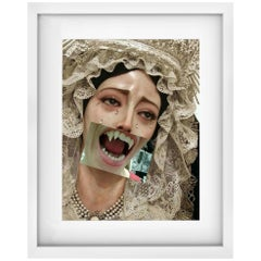 "Vampire Virgin Mary Naro Pinosa, ""Untitled"" Digital Collage, Spain, 2019"