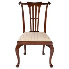 Pair of Mid-18th Century George III Walnut Side Chairs