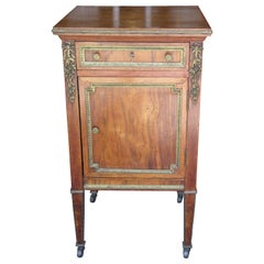 Antique Louis XVI Style Bedside Cabinet