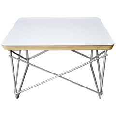 Original Eames LTR Table, Black or White