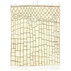 Moroccan Handwoven Berber Carpet