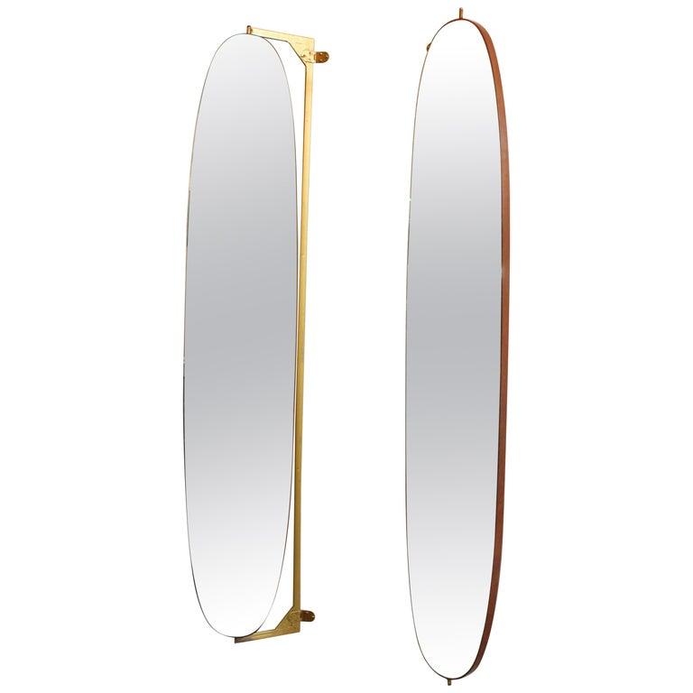 Pair of Large Italian Wall Mirrors For Sale