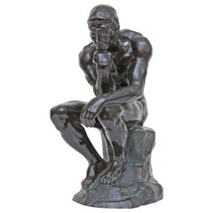The Thinker after Auguste Rodin